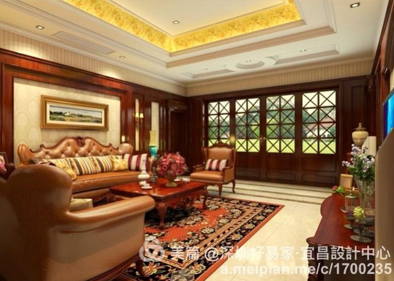 浙江私人别墅 468m² 美式风格